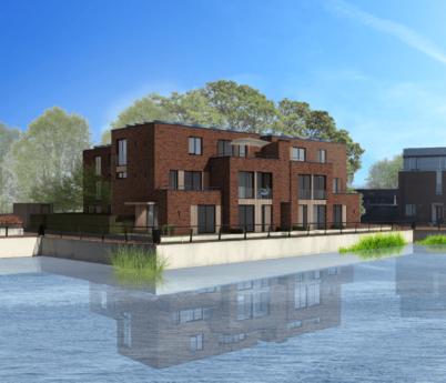 Project: Nieuwbouw 6 woningen De Vesting van Delden