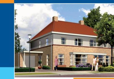 Project: Nieuwbouw 2 onder 1 kap woning DO01