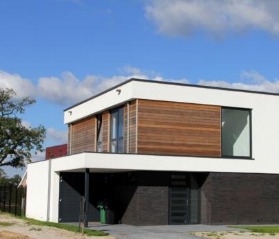 Project: 15042 Nieuwbouw moderene vrijstaande woning Bornsche Maten te Borne