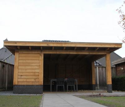 Project: 16008 Nieuwbouw overkapping te Hengevelde