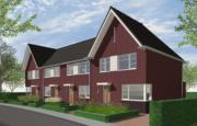 Nieuwsbericht:  Nieuwbouw 4 fraaie eengezinswoningen