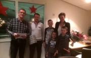 Nieuwsbericht:  12½  jarig dienstjubileum Vincent oude Meijers.