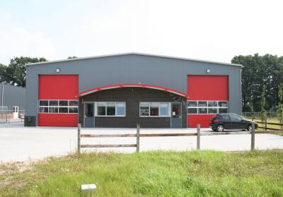 Project: 04088 Nieuwbouw bedrijfshal te Haaksbergen