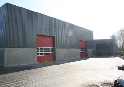 Project: 06034 Nieuwbouw bedrijfshal Geurs Beton te Hengevelde