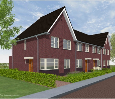 Project: 17014 Nieuwbouw 4 woningen De Marke III te Hengevelde